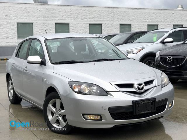 2009 MAZDA MAZDA3 GS HB M/T Local Sunroof  Cruise Control AC Powe in Port Moody, British Columbia