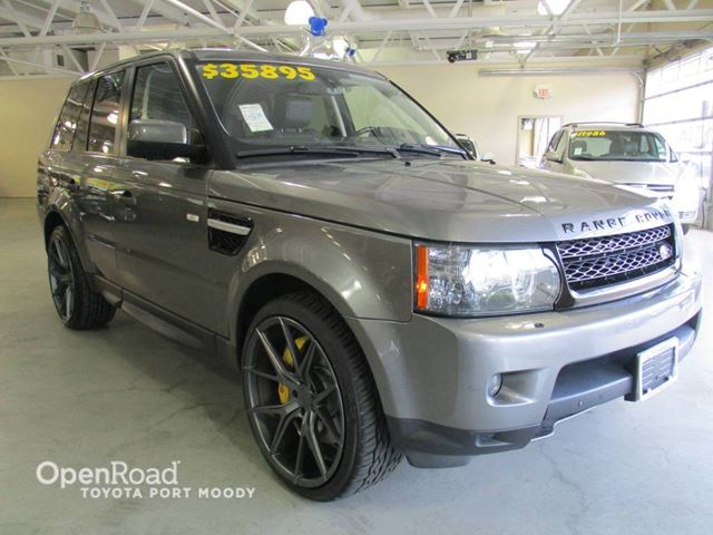 2010 LAND ROVER RANGE ROVER Sport Sport SC - Leather, Sunroof, Navigation in Port Moody, British Columbia