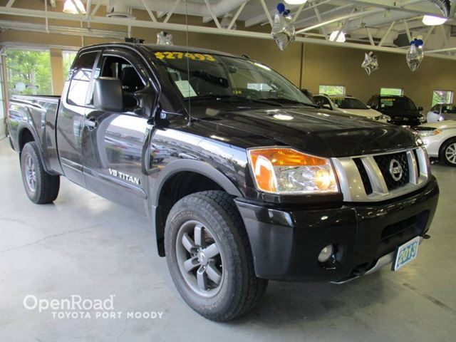 2013 Nissan Titan PRO-4X - Backup Camera, Bluetooth, 4X4 in Port Moody, British Columbia