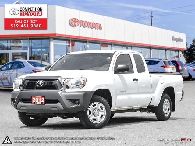2012 TOYOTA TACOMA Base NO ACCIDENTS, SERVICED BY TOYOTA DEALERS in London, Ontario
