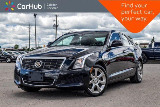 2014 CADILLAC ATS AWD Backup Cam Bluetooth Leather Heated Front Seats Keyless Go 17Alloy Rims in Bolton, Ontario