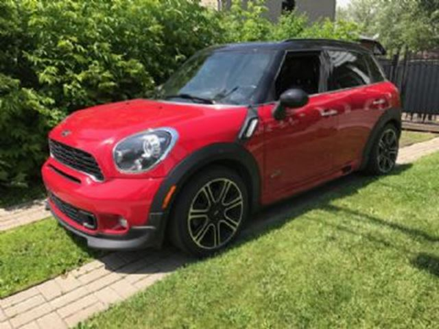 2014 MINI COOPER Countryman S ALL4 AWD Excess Wear Protection in Mississauga, Ontario
