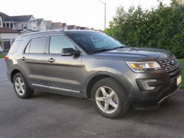2016 Ford Explorer 4WD 4dr XLT in Mississauga, Ontario
