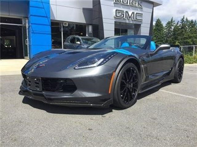 2017 Chevrolet Corvette Grand Sport 3LT in Victoria, British Columbia