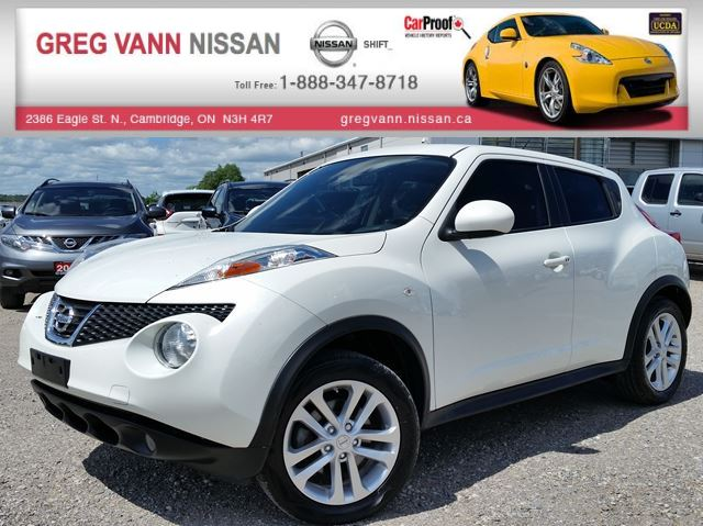 2013 Nissan Juke SL AWD w/sunroof,alloys,climate control in Cambridge, Ontario