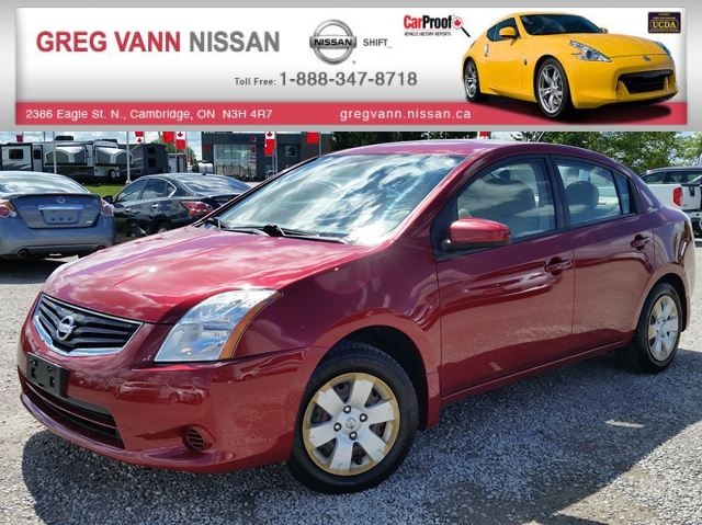 2010 Nissan Sentra 2.0 w/keyless,ac,cvt in Cambridge, Ontario