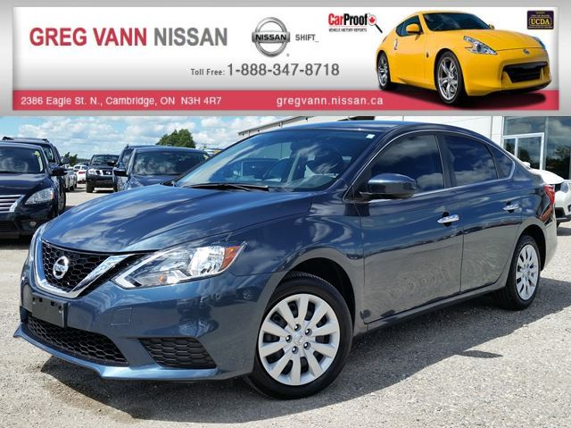 2017 Nissan Sentra S 6spd w/cruise,keyless,bluetooth,sport mode in Cambridge, Ontario