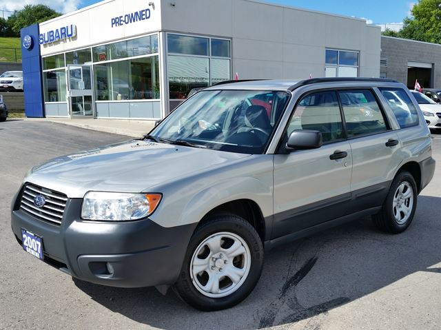 2007 SUBARU FORESTER X in Kitchener, Ontario