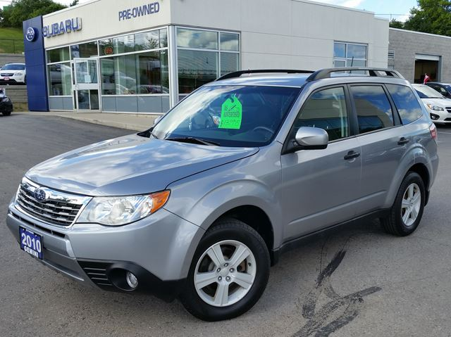 2010 SUBARU FORESTER Outdoor in Kitchener, Ontario