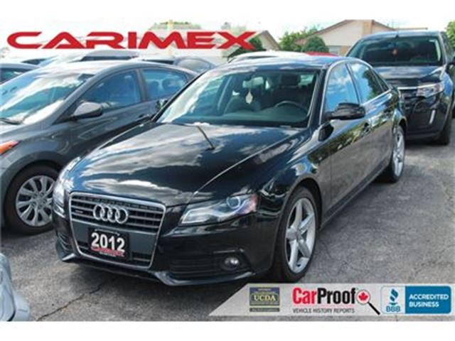 2012 AUDI A4 2.0T Premium in Kitchener, Ontario