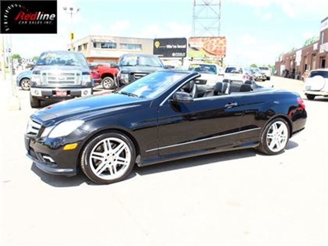 2011 Mercedes-Benz E-Class E550 Cabriolet 5.5L V8 NAVI-COOLED SEATS in Hamilton, Ontario