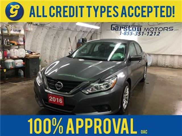 2016 NISSAN ALTIMA S*PHONE CONNECT*BACK UP CAMERA*START*PUSH STA in Cambridge, Ontario