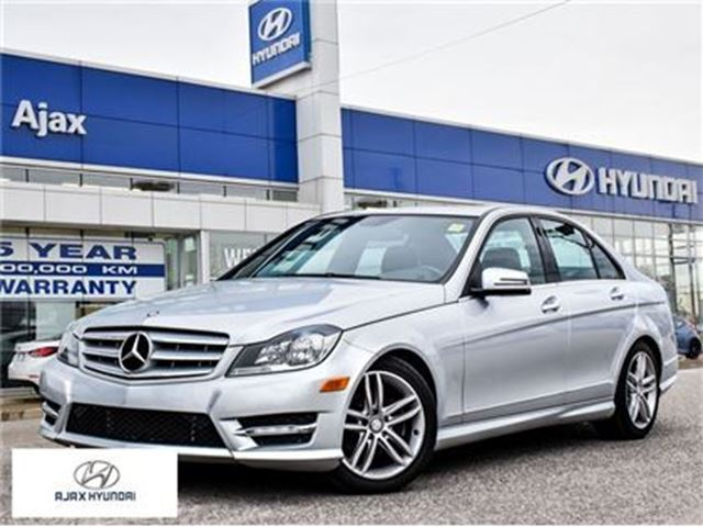 2012 MERCEDES-BENZ C-CLASS C250 4MATIC All Wheel Drive   Sunroof in Ajax, Ontario