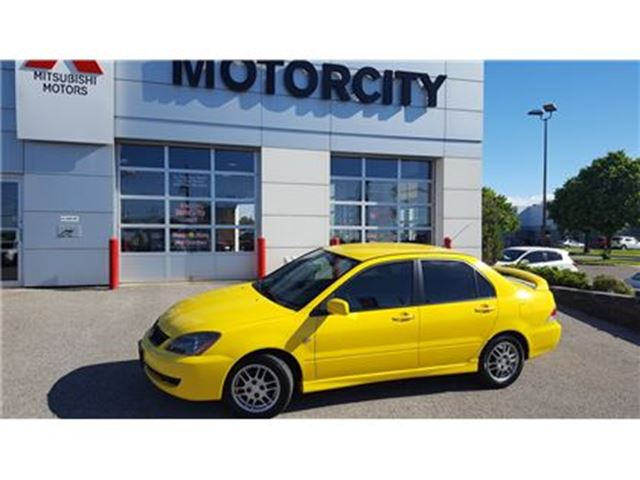 2006 Mitsubishi Lancer OZ Rally - Air Conditioning - *VERY LOW KM'S* - in Whitby, Ontario
