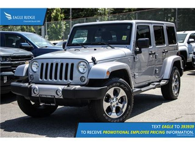 2016 JEEP WRANGLER Unlimited Sahara in Coquitlam, British Columbia