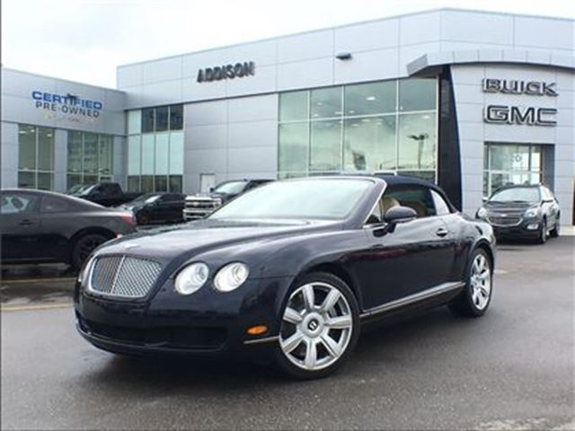 2007 BENTLEY CONTINENTAL V12 Convertible in Mississauga, Ontario