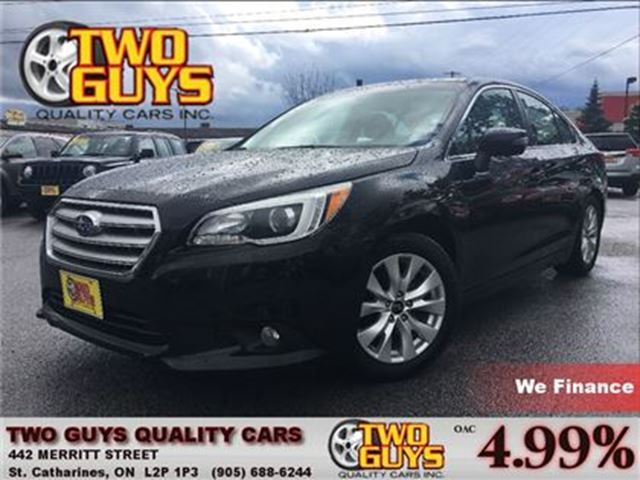 2015 SUBARU LEGACY 2.5i TOURING SUNROOF ALLOYS AWD in St Catharines, Ontario