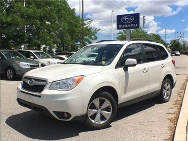 2015 SUBARU FORESTER i Convenience in Mississauga, Ontario