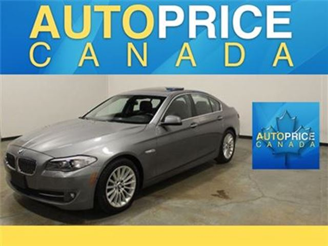 2013 BMW 5 Series X-DRIVE NAVI LEATHER MOONROOF in Mississauga, Ontario