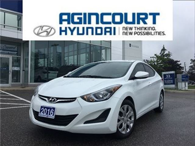 2016 HYUNDAI ELANTRA GL AUTO/HEATED SEATS/OFF LEASE/ONLY 37439KMS in Toronto, Ontario