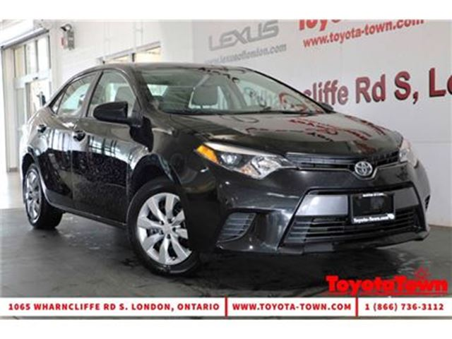 2015 Toyota Corolla SINGLE OWNER LE HEATED SEATS & BACKUP CAMERA in London, Ontario