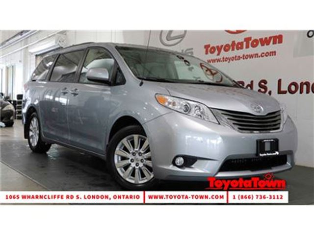 2014 Toyota Sienna AWD XLE LEATHER MOONROOF DUAL POWER SLIDING DOORS in London, Ontario