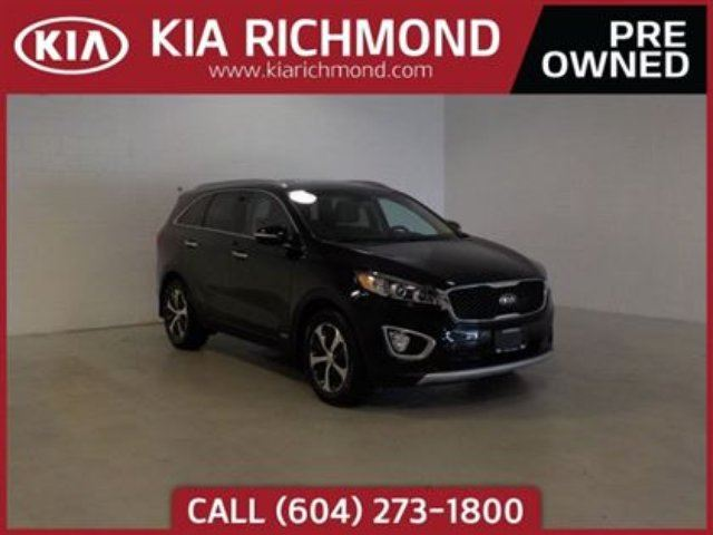 2017 KIA SORENTO EX Turbo in Richmond, British Columbia
