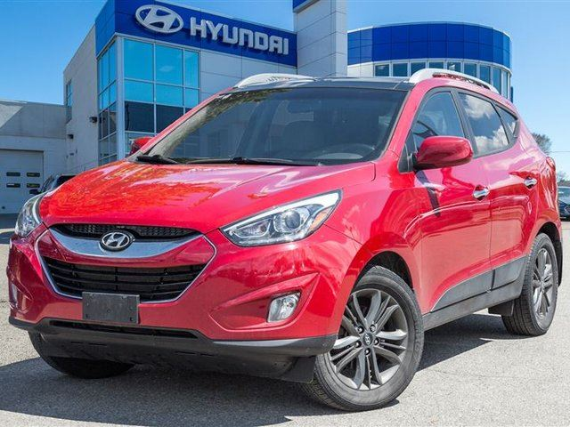 2014 Hyundai Tucson GLS AWD, LEATHER, PANO ROOF, in Mississauga, Ontario