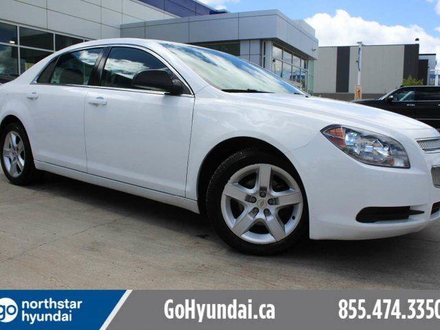 2012 CHEVROLET MALIBU LS CRUISE ALLOYS POWER SEAT in Edmonton, Alberta