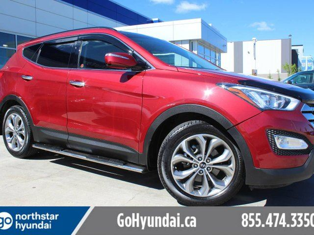 2014 Hyundai Santa Fe 2.0T SE LEATHER PANO ROOF BACKUP CAM in Edmonton, Alberta