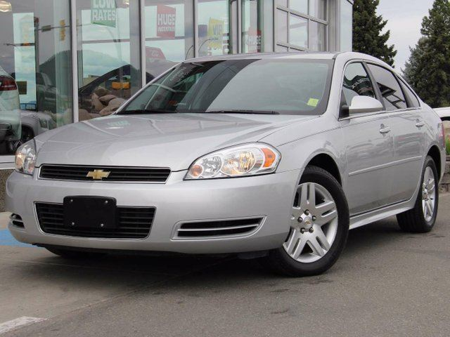 2011 CHEVROLET IMPALA LT in Kamloops, British Columbia