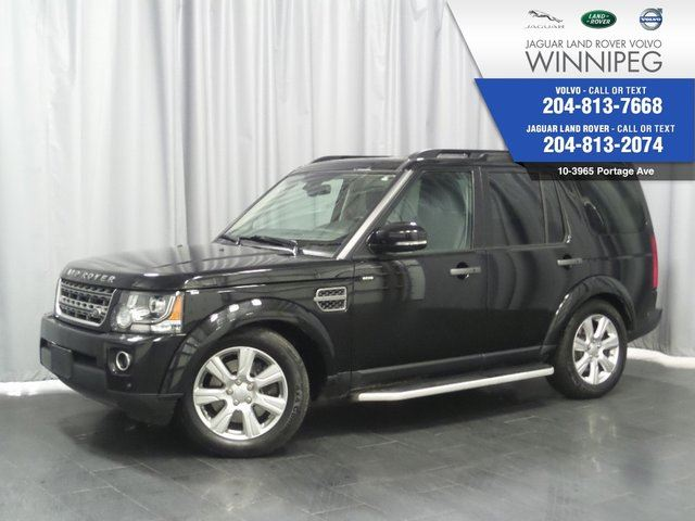 2016 LAND ROVER LR4 4WD 4dr *BEST PRICE IN CANADA* *LOCAL TRADE* in Winnipeg, Manitoba