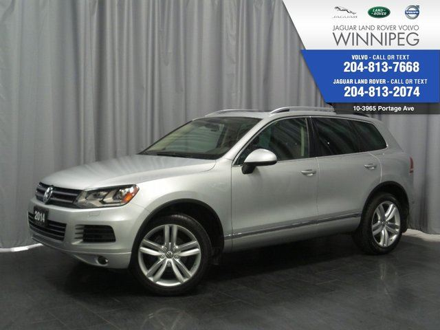 2014 VOLKSWAGEN TOUAREG Execline TDi *LOADED TDi* *AWESOME PRICE* in Winnipeg, Manitoba