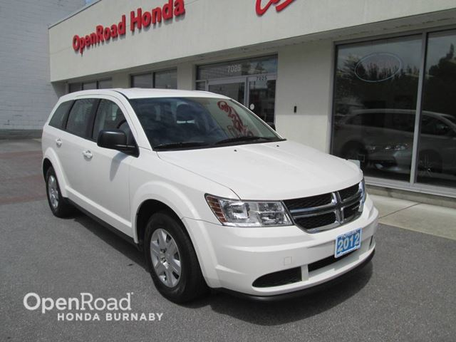 2012 Dodge Journey Canada Value Pkg in Burnaby, British Columbia
