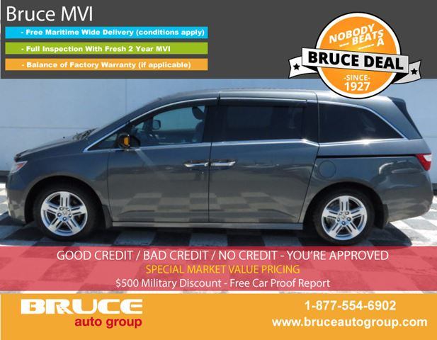 2011 Honda Odyssey TOURING 3.5L 6 CYL I-VTEC AUTOMATIC FWD - 8 PAS in Middleton, Nova Scotia