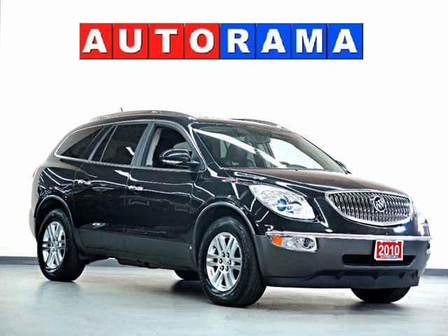 2010 Buick Enclave CXL NAVIGATION LEATHER SUNROOF 7 PASS 4WD in North York, Ontario