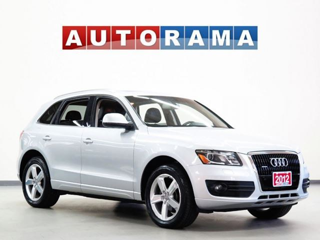 2012 AUDI Q5 NAVIGATION LEATHER SUNROOF 4WD in North York, Ontario
