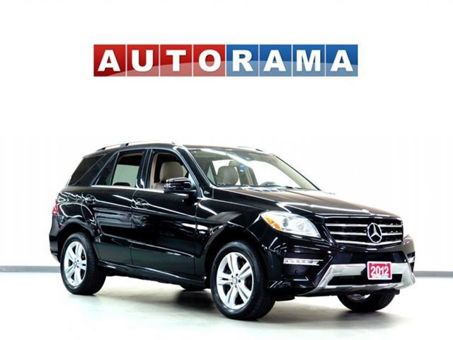 2012 MERCEDES-BENZ M-CLASS BLUETECH NAVI LEATHER SUNROOF AWD in North York, Ontario