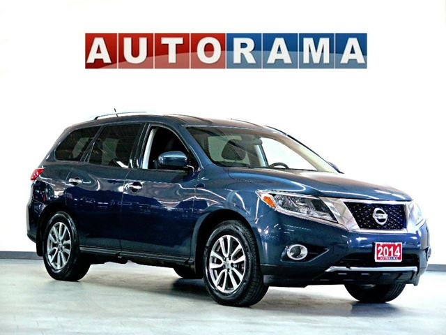 2014 NISSAN PATHFINDER LEATHER 7 PASS AWD BACKUP CAM in North York, Ontario