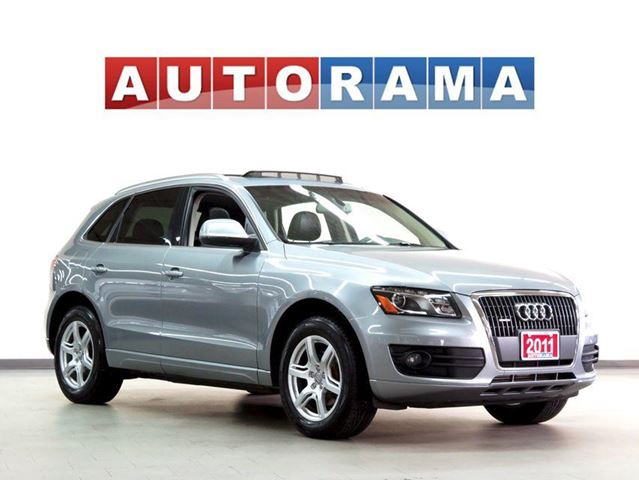 2011 AUDI Q5 LEATHER SUNROOF 4WD in North York, Ontario