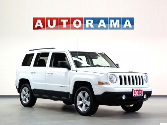 2013 Jeep Patriot 4X4 SPORT PACKAGE in North York, Ontario