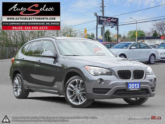 2013 BMW X1 xDrive28i AWD ONLY 107K! **SPORT PKG** CLEAN CARPROOF in Scarborough, Ontario