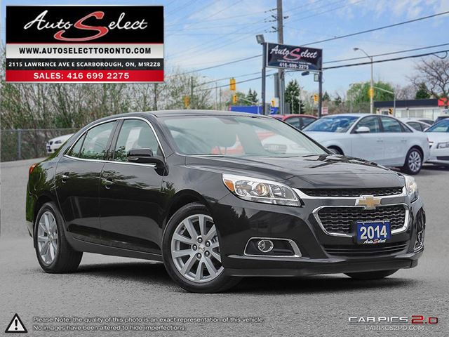 2014 Chevrolet Malibu ONLY 43K! **2LT MODEL** CLEAN CARPROOF in Scarborough, Ontario