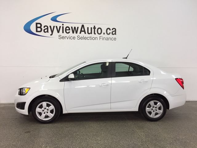 2014 Chevrolet Sonic LS- 1.8L! AUTO! A/C!  ON STAR! LOW KM! GAS BUDDY! in Belleville, Ontario