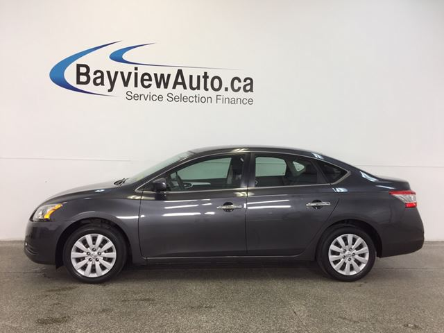 2013 NISSAN SENTRA S- PURE DRIVE! AUTO! A/C! BLUETOOTH! CRUISE! in Belleville, Ontario