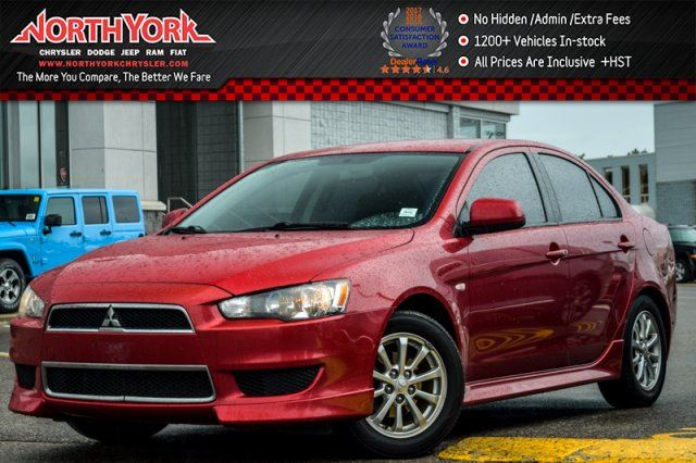 2013 Mitsubishi Lancer SE CleanCarProof HtdFrntSeats PwrWindows AC KeylessEntry 16Alloys in Thornhill, Ontario