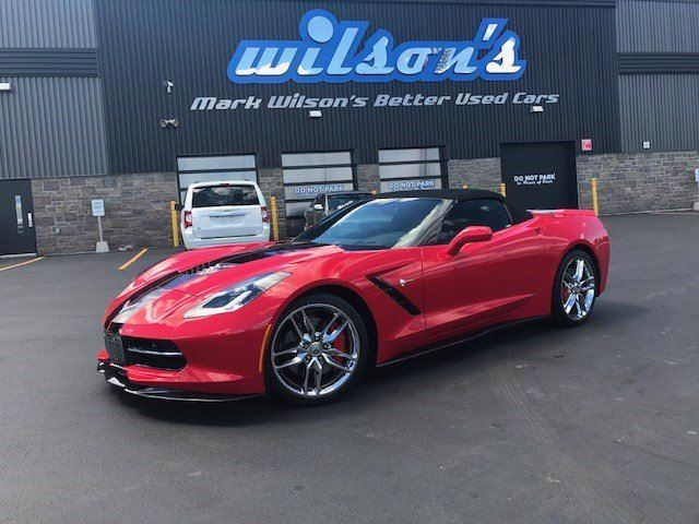 2016 Chevrolet Corvette $221/WK, 5.49% ZERO DOWN! 1Z51 2LT STINGRAY CONVERTIBLE! 6.2L V8 460 HORSEPOWER! in Guelph, Ontario
