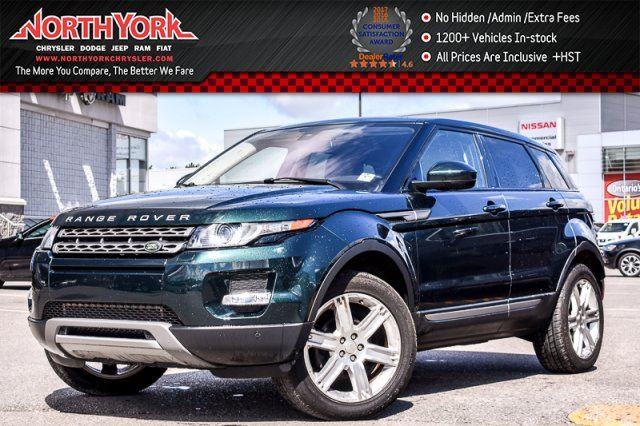 2014 Land Rover Range Rover Evoque Pure Plus 4x4 MeridianSound Pano_Sunroof 19Alloys  in Thornhill, Ontario