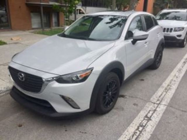 2017 Mazda CX-3 AWD GS LUXURY PACKAGE  in Mississauga, Ontario