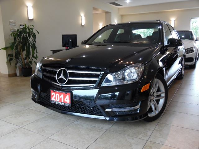 Used 2014 mercedes benz c class c300 4matic navi for Used mercedes benz toronto
